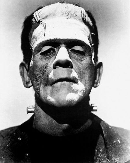 Boris Karloff som monstret